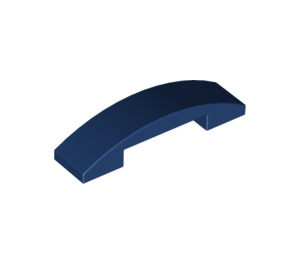 LEGO Dark Blue Slope 1 x 4 Curved Double (93273)
