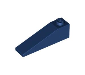 LEGO Dark Blue Slope 1 x 4 x 1 (18°) (60477)