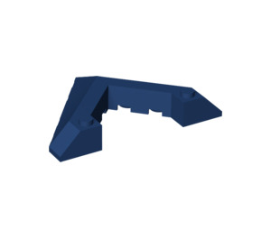LEGO Dark Blue Slope 6 x 8 (45°) with Cutout (22390)