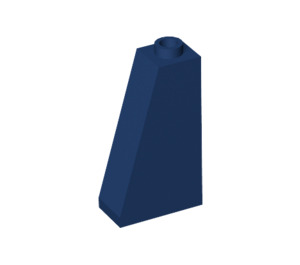 LEGO Dark Blue Slope 75 2 x 1 x 3 with Completely Open Stud (4460)