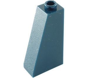 LEGO Dark Blue Slope 75 2 x 1 x 3 with Hollow Stud (4460)