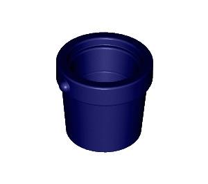LEGO Dark Blue Small Bucket (95343)