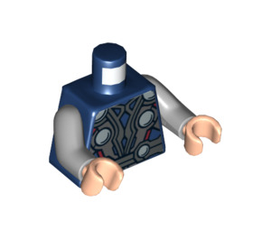 LEGO Dark Blue Thor Torso (76382)