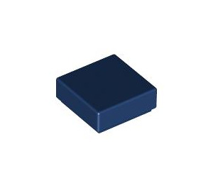 LEGO Dark Blue Tile 1 x 1 with Groove (3070)