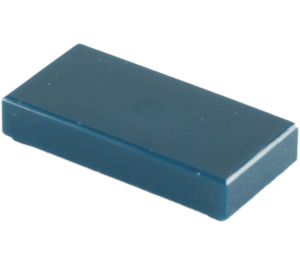 LEGO Dark Blue Tile 1 x 2 with Groove (3069)