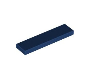 LEGO Dark Blue Tile 1 x 4 (2431)