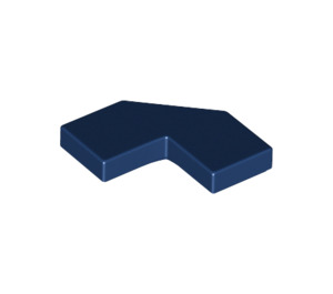 LEGO Dark Blue Tile 2 x 2 Corner with Cutouts (27263)