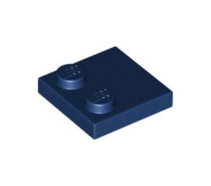 LEGO Dark Blue Tile 2 x 2 with 2 Studs (33909)