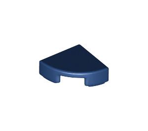 LEGO Dark Blue Tile Quarter Circle 1 x 1 (25269)