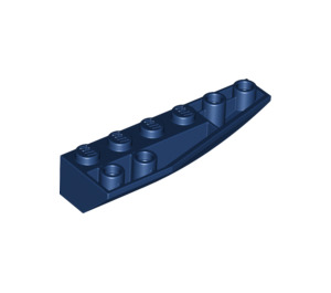 LEGO Dark Blue Wedge 2 x 6 Double Inverted Right (41764)
