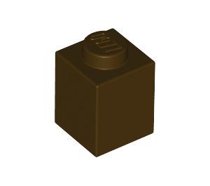 LEGO Dark Brown Brick 1 x 1 (3005)