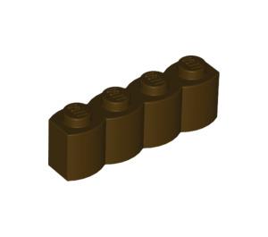 LEGO Dark Brown Brick 1 x 4 Log (30137)