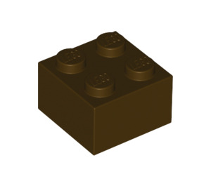 LEGO Dark Brown Brick 2 x 2 (3003)