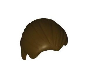 LEGO Dark Brown Combed Minifigure Hair (92081)