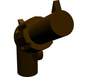 LEGO Dark Brown Minifig Gun Revolver