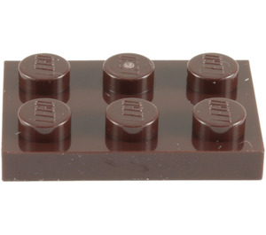 LEGO Dark Brown Plate 2 x 3 (3021)