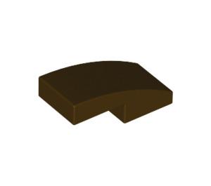 LEGO Dark Brown Slope 1 x 2 Curved (11477)