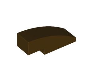 LEGO Dark Brown Slope 1 x 3 Curved (50950)