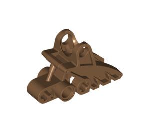 LEGO Dark Flesh Bionicle Foot (41668)