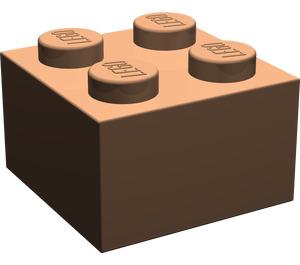 LEGO Dark Flesh Brick 2 x 2 (3003)