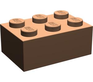 LEGO Dark Flesh Brick 2 x 3 (3002)