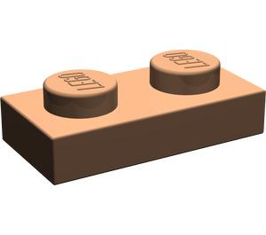 LEGO Dark Flesh Plate 1 x 2 (3023)