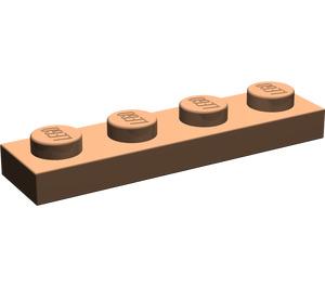 LEGO Dark Flesh Plate 1 x 4 (3710)