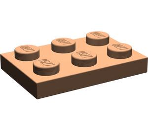 LEGO Dark Flesh Plate 2 x 3 (3021)