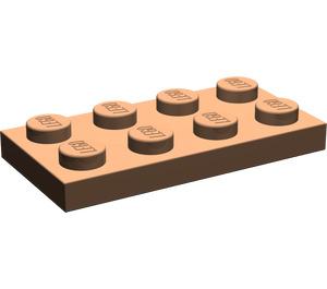 LEGO Dark Flesh Plate 2 x 4 (3020)