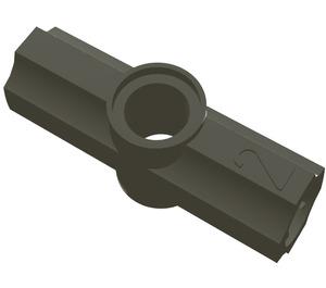 LEGO Dark Gray Angle Connector #2 (180º) (32034)
