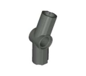 LEGO Dark Gray Angle Connector #3 (157.5º) (32016)