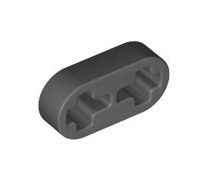 LEGO Dark Gray Beam 2 x 0.5 with Axle Holes (41677)