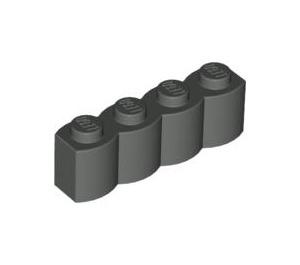 LEGO Dark Gray Brick 1 x 4 Log (30137)