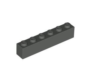 LEGO Dark Gray Brick 1 x 6 (3009)
