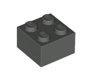 LEGO Dark Gray Brick 2 x 2 (3003)