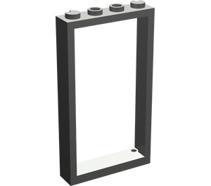 LEGO Dark Gray Door Frame 1 x 4 x 6 Single Sided