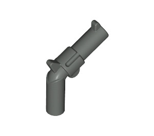 LEGO Dark Gray Minifig Gun Revolver (30132)