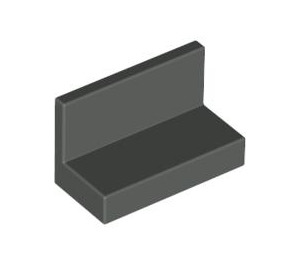 LEGO Dark Gray Panel 1 x 2 x 1 without Rounded Corners (4865)