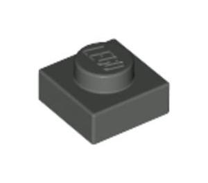 LEGO Dark Gray Plate 1 x 1 (3024)