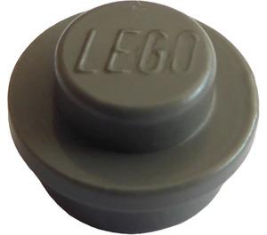 LEGO Dark Gray Plate 1 x 1 Round (6141)