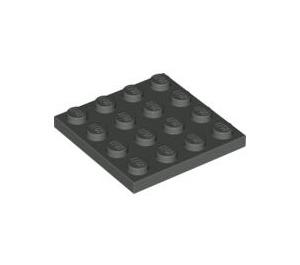 LEGO Dark Gray Plate 4 x 4 (3031)