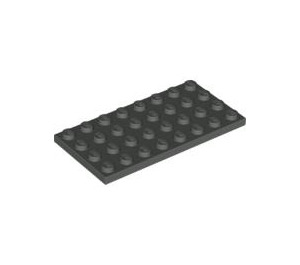 LEGO Dark Gray Plate 4 x 8 (3035)