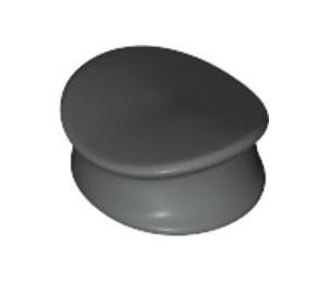 LEGO Dark Gray Police Hat (3624)