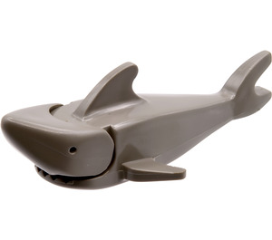 LEGO Dark Gray Shark with Pointed Nose