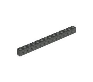 LEGO Dark Gray Technic Brick 1 x 14 with Holes (32018)