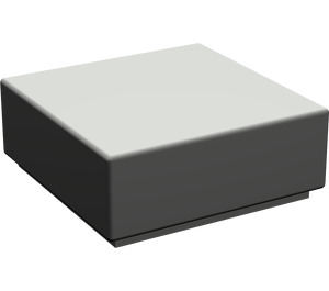 LEGO Dark Gray Tile 1 x 1 with Groove (3070)