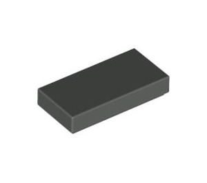 LEGO Dark Gray Tile 1 x 2 with Groove (3069)