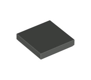 LEGO Dark Gray Tile 2 x 2 with Groove (3068)