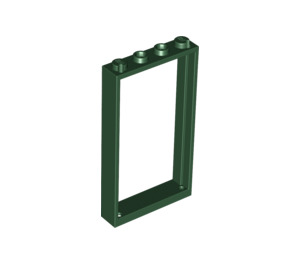 LEGO Dark Green Door Frame 1 x 4 x 6 Single Sided (40289 / 60596)