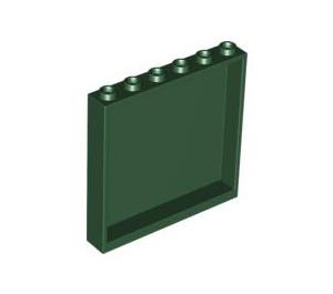 LEGO Dark Green Panel 1 x 6 x 5 (59349)